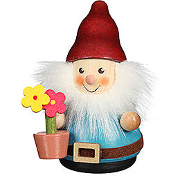 Teeter Man Dwarf with Flower Pot - 8 cm / 3.1 inch