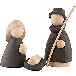 The Holy Family Natural/Anthracite - Small - 7 cm / 2.8 inch