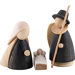 The Holy Family Natural/Anthracite - Small - 7,0 cm / 2.8 inch