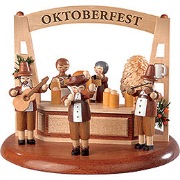 Theme Platform for Electr. Music Box - Oktoberfest - 13 cm / 5 inch