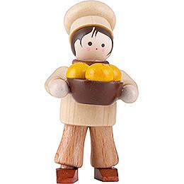 Thiel-Figur Bäckerjunge - natur - 5 cm