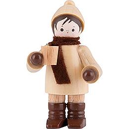 Thiel-Figur Glühweintrinker - natur - 5,5 cm