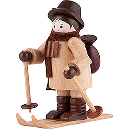Thiel-Figur Wildhüter auf Ski - natur - 6 cm