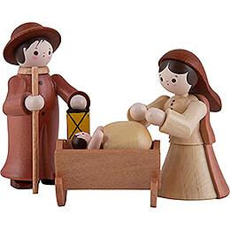 Thiel-Figuren Heilige Familie - natur - 6 cm