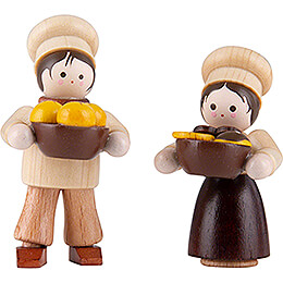 Thiel Figurine - Baker Children - natural - 4,7 cm / 1.9 inch