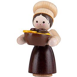 Thiel Figurine - Baker Girl - natural - 4,6 cm / 1.8 inch