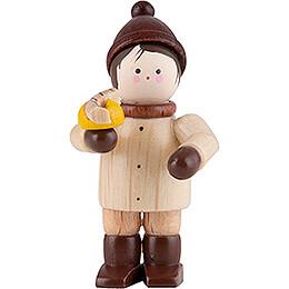 Thiel Figurine - Boy with Bratwurst - natural - 4,6 cm / 1.8 inch