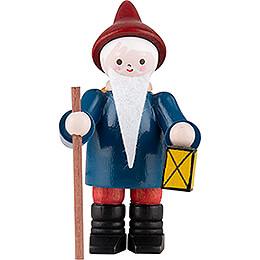 Thiel Figurine - Gnome with Lantern - coloured - 6 cm / 2.4 inch
