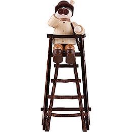 Thiel Figurine - Hunter on Deer Stand - natural - 11 cm / 4.3 inch