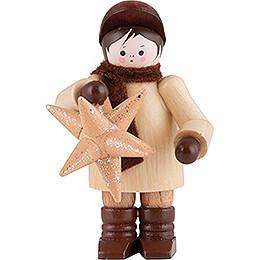 Thiel Figurine - Man with Star - 6 cm / 2.4 inch