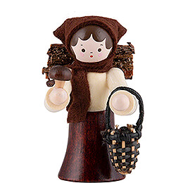Thiel Figurine - Mushroom Woman - natural - 6 cm / 2.4 inch
