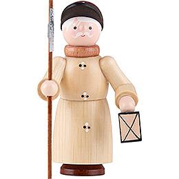 Thiel Figurine - Nightwatchman - natural - 6 cm / 2.4 inch