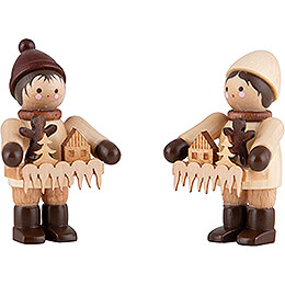 Thiel Figurine - Striezel Children - natural - 4,2 cm / 1.7 inch