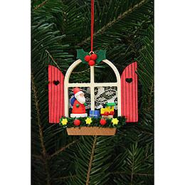 Tree Ornament - Advent Window with Niko - 7,6x7,0 cm / 3x3 inch