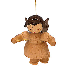 Tree Ornament - Angel Conductor - Natural Colors - Floating - 5,5 cm / 2,1 inch