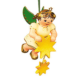 Tree Ornament - Angel Stars Taler - 6 cm / 2,5 inch