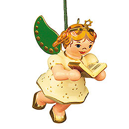 Tree Ornament - Angel with Songbook - 6 cm / 2,5 inch