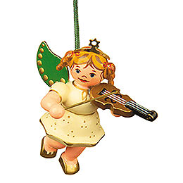 Tree Ornament - Angel with Violin - 6 cm / 2,5 inch