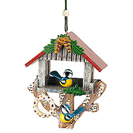 Tree Ornament - Bird House - 8,5 cm / 3,3 inch