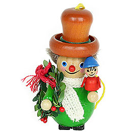 Tree Ornament - Bob Cratchit - 9 cm / 3.5 inch