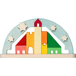 Tree Ornament - Candle Arch blue - 3,6 cm / 1.4 inch