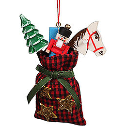 Tree Ornament Christmas Bag - 7,5x10 cm / 2.9x3.9 inch