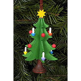 Tree Ornament - Christmastree - 5,0x9,8 cm / 2x4 inch