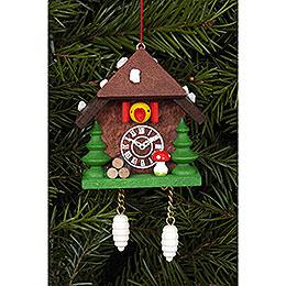Tree Ornament - Cuckoo Clock - 5,8 cm / 2.3 inch