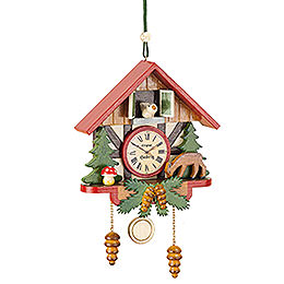 Tree Ornament - Cuckoo Clock Forest - 10 cm / 3,9 inch