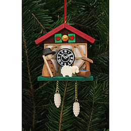 Tree Ornament - Cuckoo Clock Shepherd - 7,0x6,7 cm / 3x3 inch