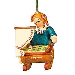 Tree Ornament - Doll Mummy - 5 cm / 2 inch
