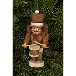Tree Ornament - Drummer Natural - 10,5 cm / 4 inch
