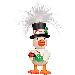 Tree Ornament - Feather Duckling