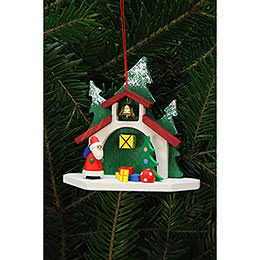 Tree Ornament - Forest Chapel with Niko - 9,2x8,7 cm / 4x3 inch