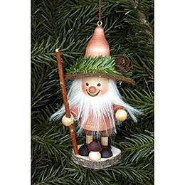 Tree Ornament - Forest Gnome Natural - 11,5 cm / 5 inch