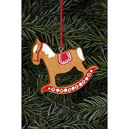 Tree Ornament - Ginger Bread Horse Gross Brown - 6,2x6,5 cm / 2.4x2.5 inch