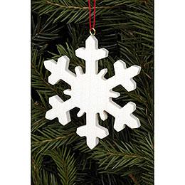 Tree Ornament - Icecrystal Natural - 6,6x6,6 cm / 2.6x2.6 inch
