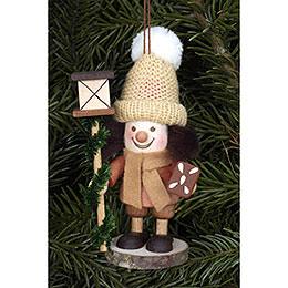 Tree Ornament - Lanternman Natural - 11,5 cm / 5 inch