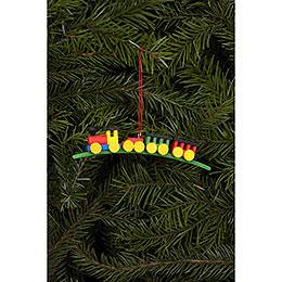 Tree Ornament - Mini-Train - 10,5x2,1 cm / 4.1x0.8 inch