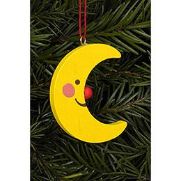 Tree Ornament - Moon - 3,6 / 4,7 cm - 2x2 inch