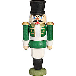 Tree Ornament - Nutcracker - Hussar Green - 9 cm / 3.5 inch