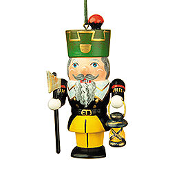 Tree Ornament - Nutcracker Miner - 7 cm / 3 inch