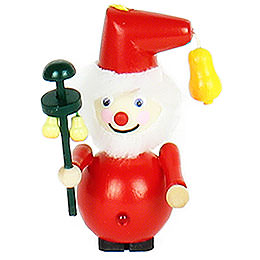 Tree Ornament - Pear Tree Santa - 9 cm / 3.5 inch