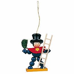Tree Ornament - Plum Man Colored - 8 cm / 3.1 inch