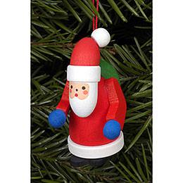 Tree Ornament - Santa Claus - 2,5x5,0 cm / 1x2 inch