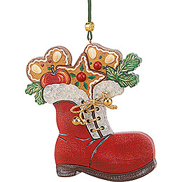 Tree Ornament - Santa's Boot  - 8 cm / 3.1 inch