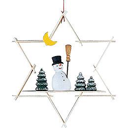 Tree Ornament - Snow Man - 9,5 cm / 3.7 inch