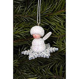 Tree Ornament - Snowflakes - 4,5x3,5 cm / 2x1 inch