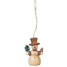 Tree Ornament - Snowman - 8 cm / 3 inch