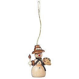 Tree Ornament - Snowwoman - 8 cm / 3 inch